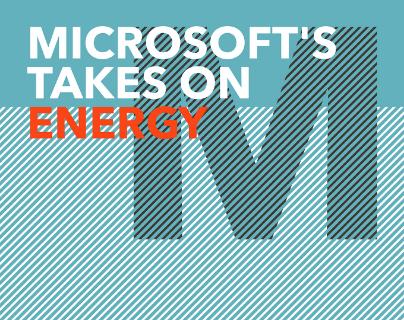 microsoft's takes on energy
