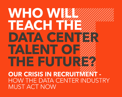 who will teach the data center talent of the future